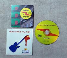 """CD AUDIO / JUKEBOX BABIES """"ELECTRIQUE OU RIEN"""" 1T 2005 CD SINGLE PROMO JBB01/1"""