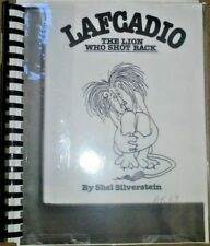 LAFCADIO, The Lion Who Shot Back by Sel S. - in Braille for the Blind Children