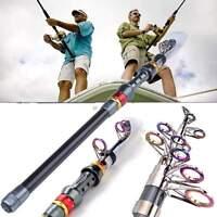 3.6M Professional Carbon Fiber Telescope Rod Travel Spinning Fishing Fish Pole
