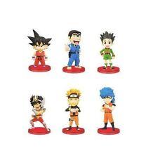 J STARS World Collectable Figure vol.1 Set of 6 Jump 45th WCF Goku Naruto F/S