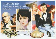 James Bond MARLON BRANDO BEBE DANIELS CINEMA STORIA 1999 Gomma integra, non linguellato FRANCOBOLLO SHEETLET