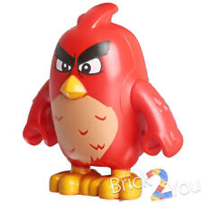 Lego Red Minifigure ONLY from 75823 Angry Birds Bird Island Egg Heist ang005