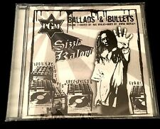 Sizzla - Ballads & Bullets 100% Exclusives -Lmt. Ed.- 2007 - RARE - SEALED - NEW