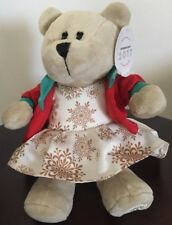 2017 Starbucks Bearista Snowflake Dress Bunny Rabbit Red Jacket Girl Bear Plush