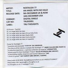 (EQ555) Nostalgia 77, An Angel With No Halo - 2013 DJ CD