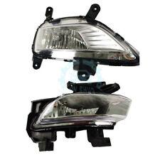 1Set Front Fog/Driving Lights&Fog Lamp Frame Trim For Kia Forte 2009-2014