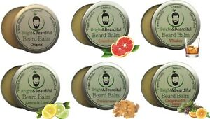 Beard Balm for Styling, Taming, Softening & Conditioning 30ml (Pack 6) SAVE35%