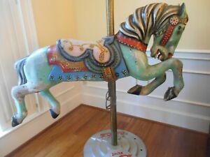 Antique Carousel Horse by Allan Herschell, Full Size.