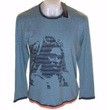 Bnwt Men's French Connection Long Sleeved Striped T Shirt Top