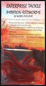 Enterprise Tackle Imitation Redworms x 5 packs *50% off*