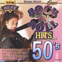The Best of Rock 'N' Roll Hits of the 50's by Various Artists (CD, 1997, Madacy