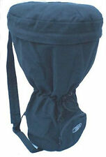 60cm (H) DJEMBE African Drum BACKPACK BAG. (Black) Heavy Duty, Light Weight,