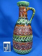 Beautiful 70´s design WGP Bay Keramik pottery jug vase / Krugvase 97  27