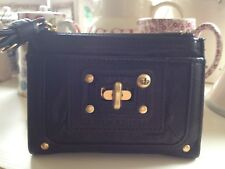 ⭐️JUICY COUTURE PURSE⭐️Black Lady Lock Lolita Pocketed Leather Wallet⭐️