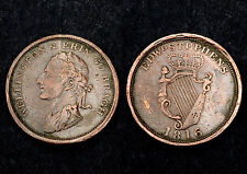 Penny 1816 Ireland, Wellington & Erin Bragh. Bronze. KM#TTN3
