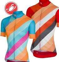 Castelli Prisma Women's Full Zip Short Sleeve Cycling Jersey