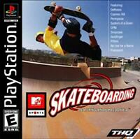 MTV Sports Skateboarding Ft. Andy Macdonald Playstation 1 Game PS1 Used Complete