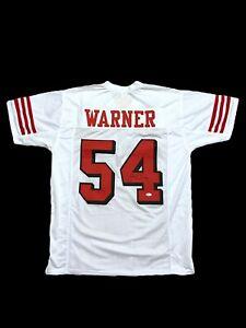 Fred Warner Signed Jersey Beckett