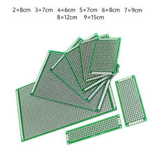 Equipment Circuit Board Prototyping Components Double-Sided Breadboard