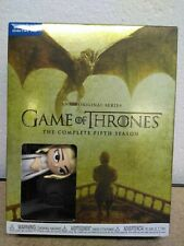 Game of Thrones Fifth Season Blu-Ray + Digital Hd with Mini Daenerys Funko Pop