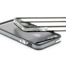 ProBagz iPhone 5 TPU Silikon Schutzhülle Bumper Cover Tasche schwarz-transparent