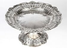 Vintage Reed & Barton Sterling Silver Repousse Compote