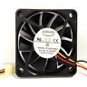 EVERFLOW R126010BU Double ball cooling fan 12V 0.35A 6010 3pin #C1