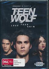 Teen Wolf Season Three 3 Part 2 Two DVD NEW Region 4