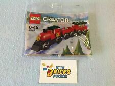 Lego 30543 Christmas Train Polybag New/Sealed/Retired/Hard to Find