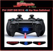 PS4 Controller Light Bar Decal logo 4x Star Wars Battlefront