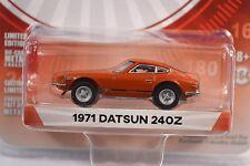 DATSUN 240Z 1971 ORANGE NISSAN FAIRLADY TOKYO TORQUE SER 1 29880 1:64 GREENLIGHT