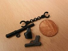 2179 Toy Police Plastic Gun Holster Handcuffs Baton - Playmobil New Spares