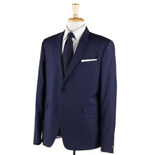 c84542e81c67db Paul Smith London Slim Fit Stripe Wool Suit Navy 44
