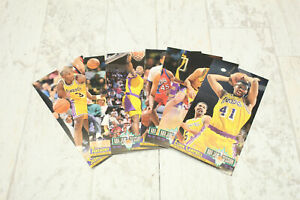 LOT of 8 - Fleer NBA Jam Session LOS ANGELES LAKERS Cards 1993-1994