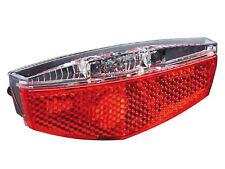 Büchel LED Gepäckträger Rücklicht Fahrrad Licht Tivoli m. Standlicht 50/80mm