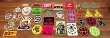 Lot of 31 Huf SF DQM and Benny Gold Skateboard Stickers Decals Supreme