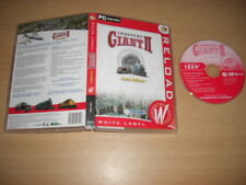 Industry Giant II 2 GOLD EDITION inc Gioco Base + 1980-2020 Add-On PC DVD ROM wlr