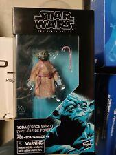 Star Wars Black Series 6? Yoda Force Spirit Ghost Action Figure