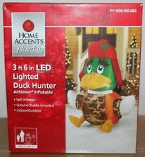 Gemmy Airblown 3 ft 6 in Duck Hunter LED Lighted Christmas Inflatable