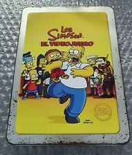 Los Simpson - El Videojuego - Steelbook - Ultra Rare - PS2 - Complete with Game