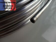 """Tuyau rigide 3/8"""" (9,52 mm) alu, vendu au mètre enroulé, VENDEUR FRANCAIS"""