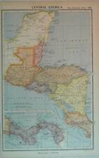 1935 Vintage Print - Central America Map