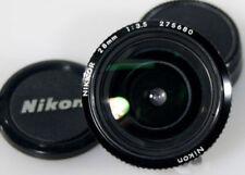 NIKON 28MM F3.5 WITH CAPS NON-AI