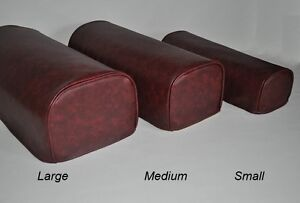Oxblood Pair Faux Leather Antimacassar Chair Sofa Arm Cap Protectors Wipe Clean