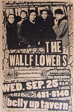 """The Wallflowers """"Bringing Down The Horse"""" 2002 San Diego Concert Tour Poster"""