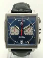 TAG HEUER Monaco Automatic - CW2113.FC6183 - 2002 - Box & Papers - Warranty