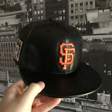 newest 95544 50a4b New Era Cap x MLB San Francisco Giants Leather Perfect Game Box Set RARE