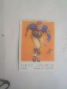 1959 Topps Football Jerry Kramer Rookie