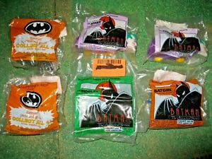 Lot of 26 McDonald's Fast Food Toys Batman The Animated Series, Spider-Man, LEGO