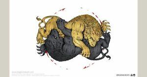 Kingdom Death Monster: Vignette of Death Gigalion Brand New